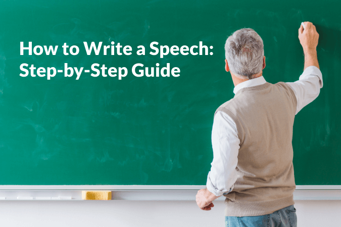 Write a Speech