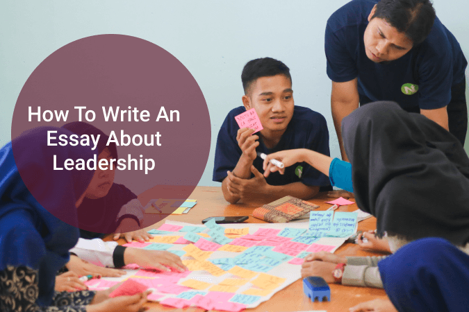 How to write an essay about leadership
